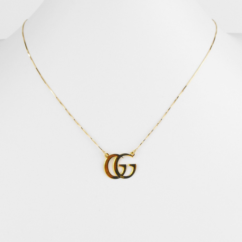 COLLANA DOUBLE G IN ARGENTO 925