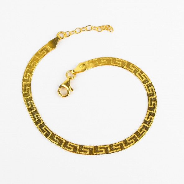 BRACCIALE LABYRINTH IN ARGENTO 925