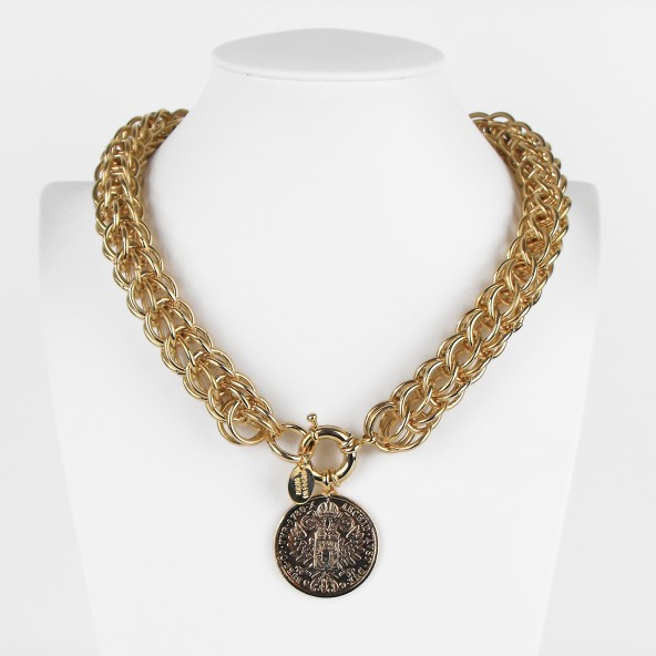 COLLANA BIG COIN